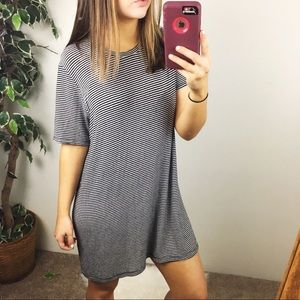 Brandy Melville striped casual dress